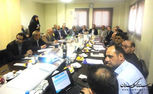جلسه بررسی وضعیت نیروگاه برق علی آباد از منظر پدافند غیرعامل