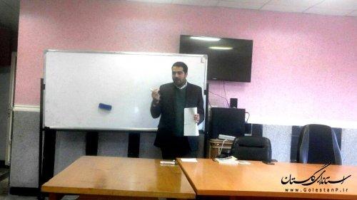 برگزاری کارگاه آموزشی پدافند غیرعامل در سطح مدارس و خانه های فرهنگ