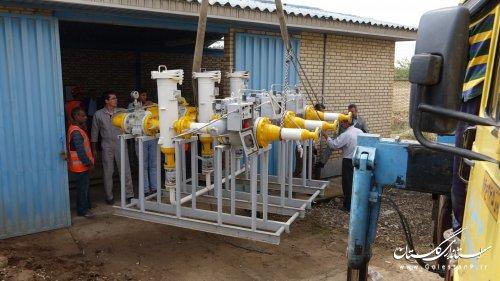 برگزاری مانور و عملیات اجرایی بازسازی و تعمیر ایستگاه های TBS گاز