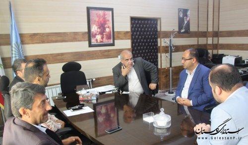 نشست مدیرکل پدافند غیرعامل با ریاست دانشگاه پیام نور استان
