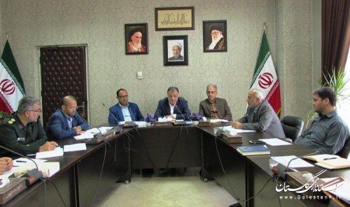 جلسه شورای پدافند غیرعامل استان برگزار شد.