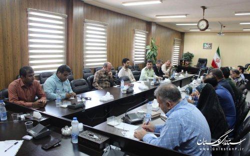 جلسه شورای پدافند غیر عامل شهرستان آزادشهر برگزار شد