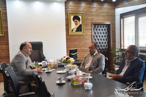 جلسه هم اندیشی مدیرکل پدافند غیرعامل استان با مدیرکل زندانهاو اقدامات تأمینی استان