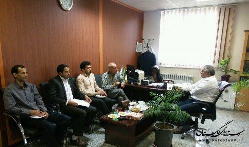 جلسه هم اندیشی کارشناسان با مدیرکل پدافند غیرعامل استانداری مازندران