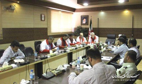جلسه کارگروه امداد و نجات پدافند غیرعامل استان برگزار گردید