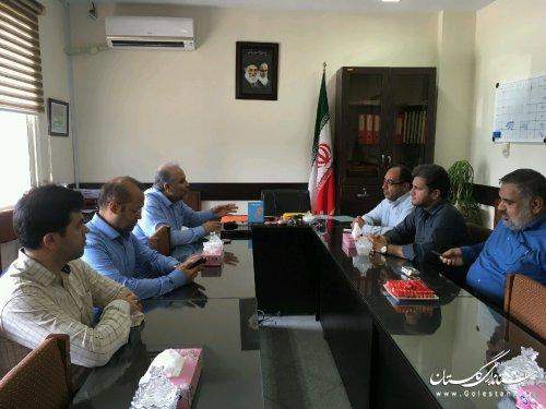 بازدید مدیرکل پدافند غیرعامل از بیمارستان شهید صیاد شیرازی گرگان