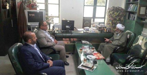 جلسه هم اندیشی مدیرکل پدافند غیرعامل با مدیرکل تبلیغات اسلامی استان