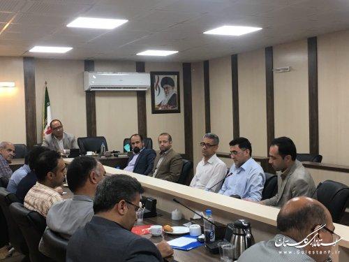 جلسه اتاق فکر نخبگان پدافند غیرعامل استان برگزار گردید