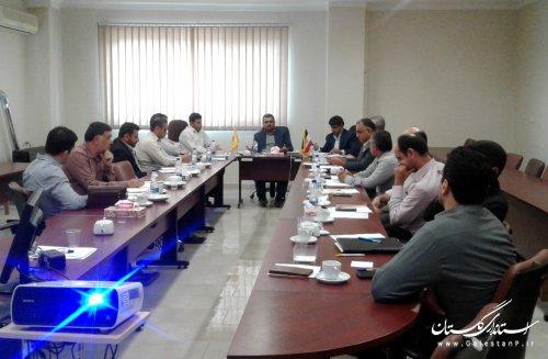 سومین جلسه کارگروه انرژی وآب شورای پدافند غیرعامل استان برگزار شد