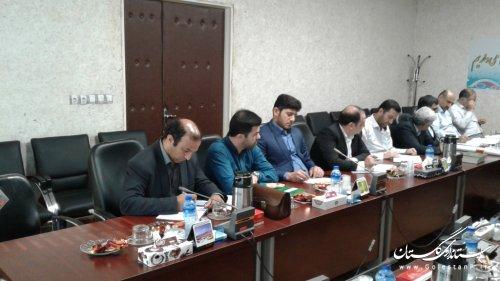 جلسه کارگروه راه و شهرسازی پدافند غیرعامل استان برگزار شد