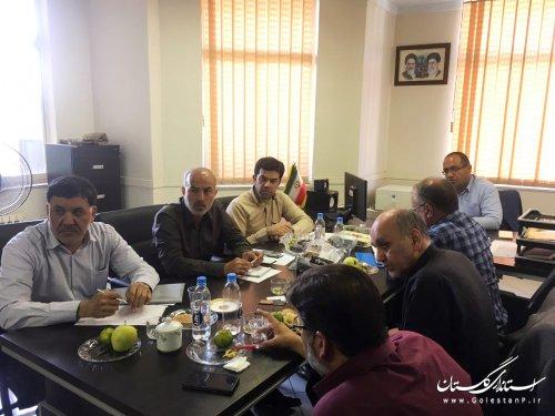 جلسه بررسی طرح جامع مطالعات پدافند غیرعامل استان برگزار شد