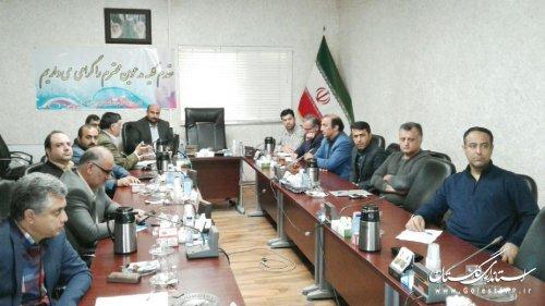جلسه کارگروه راه و شهرسازی پدافند غیر عامل استان برگزار شد