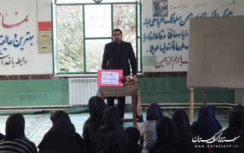 کارگاه های آشنایی با پدافند غیرعامل در مدارس گرگان برگزار شد