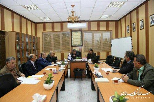 جلسه کارگروه بهداشت ، سلامت و بیولوژیک پدافند غیرعامل استان برگزار شد