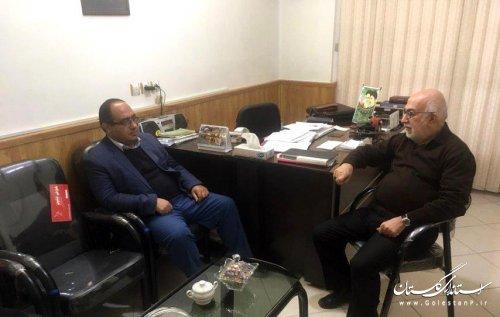 دیدار مدیرکل پدافند غیرعامل استان با مسئول دفتر شورای سیاست گذاری ائمه جمعه استان