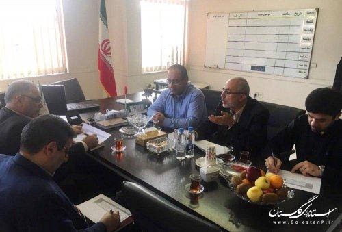جلسه تعیین سطح بندی مراکز ثقل از دیدگاه پدافند غیرعامل درخصوص دارایی های بانک ملی استان