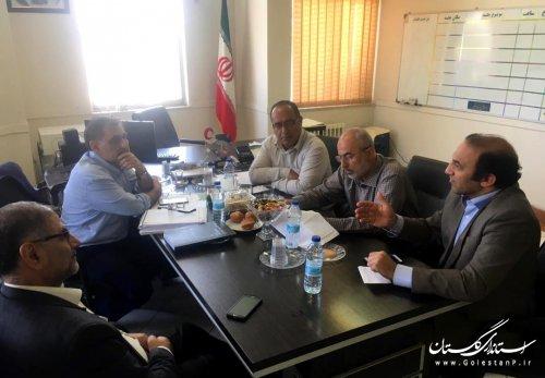 برگزاری جلسه بررسی روند پیشرفت طرح جامع مطالعات پدافند غیرعامل استان