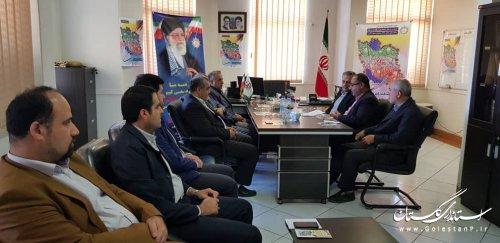 حضور معاون سیاسی امنیتی استاندار گلستان در اداره کل پدافند غیرعامل استان