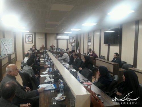 برگزاری مجمع عمومی انجمن علمی پدافند غیرعامل استان گلستان