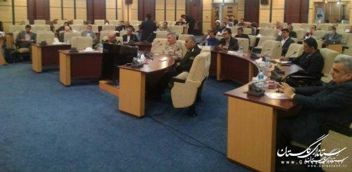 جلسه قرارگاه پدافند زیستی استان با موضوع مقابله با ویروس کرونا برگزار شد