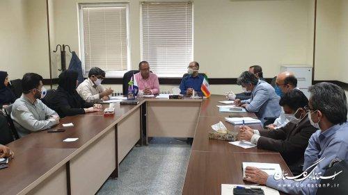 جلسه کارگروه انرژی و آب پدافند غیرعامل استان برگزار شد