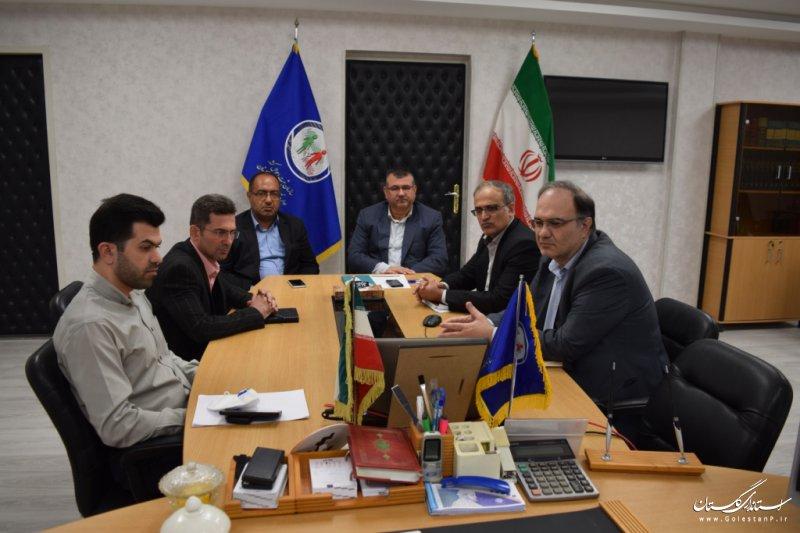 جلسه ویدئو کنفرانسی پدافند غیرعامل در سازمان ثبت احوال کشور