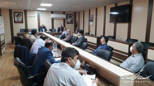 برگزاری اولین جلسه کمیته استانی پدافند غیرعامل مرزبانی زیستی
