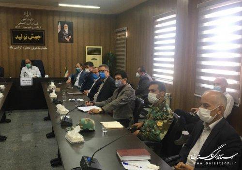 جلسه شوراي پدافند غيرعامل شهرستان آزادشهر برگزار شد